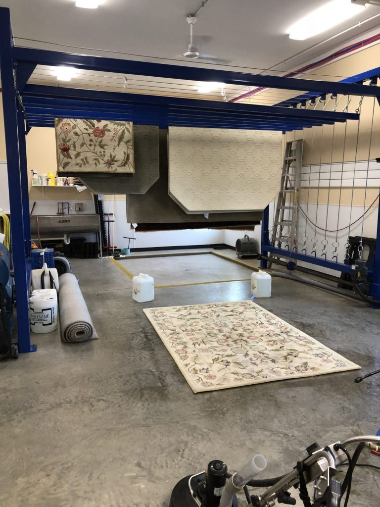 Oriental & Throw Rug Cleaning in